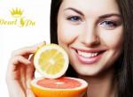 Trắng sáng da với vitamin C