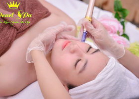 Căng bóng da bằng phi kim(TBG – AND Cá Hồi)  (skin shiny with stem cell – AND Salmon )