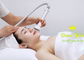 Chuyên sâu thắp sáng làn da bằng  Vitamin C or E (Facial care with vitamin C or E ) 70'