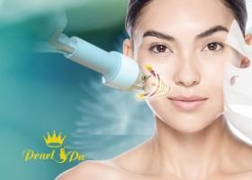 Điều trị da mặt công lệ laser uy tín