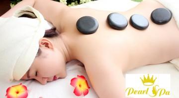 Massage body đá nóng hiệu quả