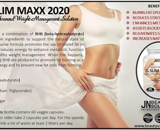 G.SLIM MAXX 2020 - HỖ TRỢ GIẢM CÂN