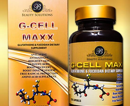 Viên uống làm đẹp G_CELL MAXX - chống ung thư