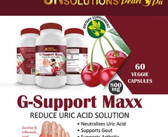 Viên uống làm đẹp G_SUPPORT MAXX (hỗ trợ gout – viêm khớp)